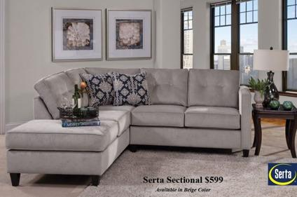 New Serta Sectional