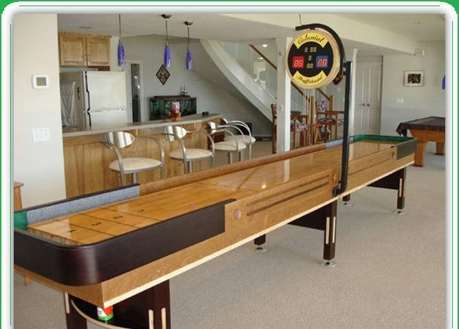 NEW Shuffleboard Table