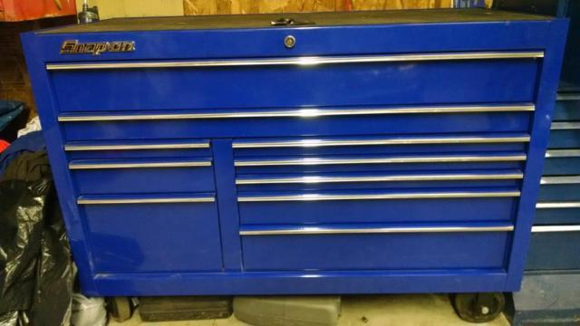 New Snap On Tool Box with lots of Tools