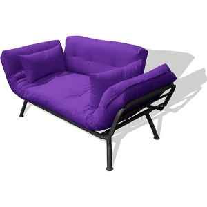 New Soft Mali Flex Purple Futon Cushions ponent