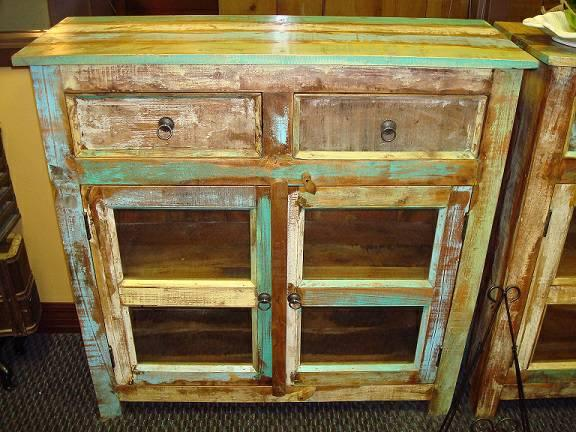 New Solid Wood Display Curio Cabinet From Indonesia For