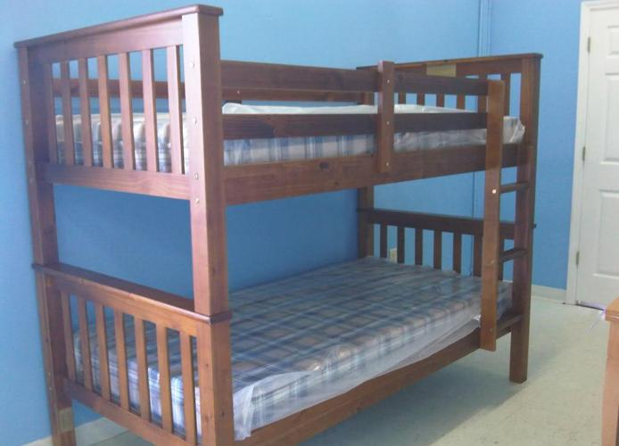 New Solid Wood Mission Style Bunk Beds Mt Pleasant