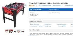 Sportcraft Foosball Table Classifieds Buy Sell Sportcraft