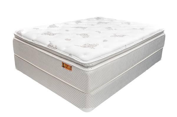 New Super Soft Pillow Top Mattress Set For Sale In