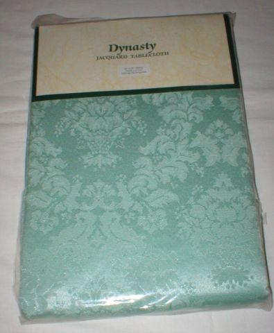 New Tablecloth - In Original Pkg - Dynasty Jacquard -