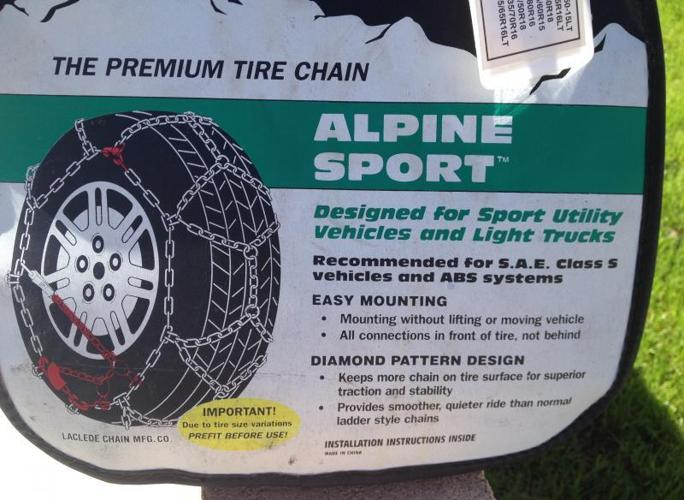 ** New**Tire chains