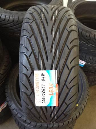 New tires cheap 205/40/17, 225/40,18, 305/40/22, 305/35/24 ...