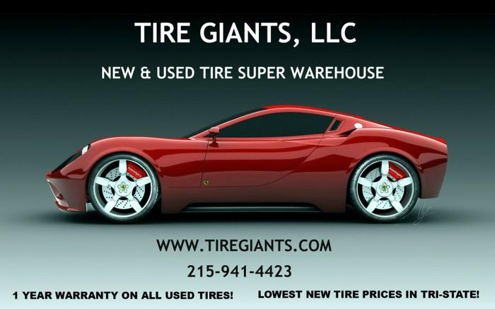 New Tires * FINANCE * NO CREDIT CHECK * 90 Days 0% *