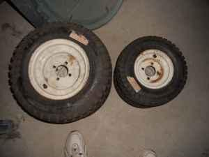 New Tractor Riding Lawn Mower Wheels And Tires Clark
