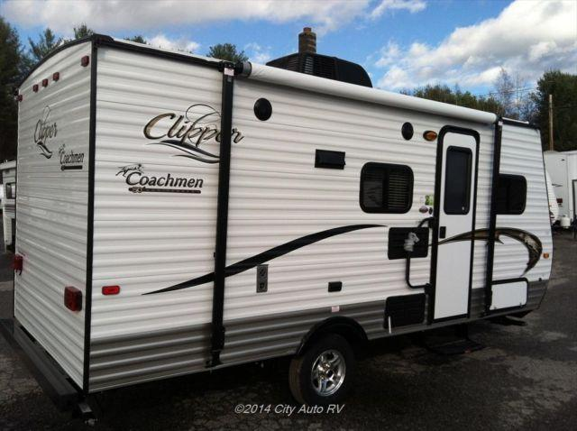 New Travel Trailer 2014 Coachmen Clipper 17bh For Sale