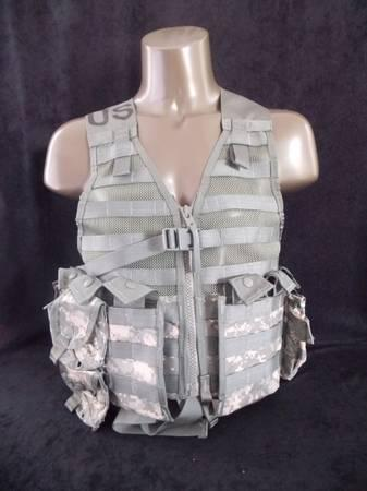 NEW US ARMY TACTICAL VEST - MO.L.L.E. II - $35