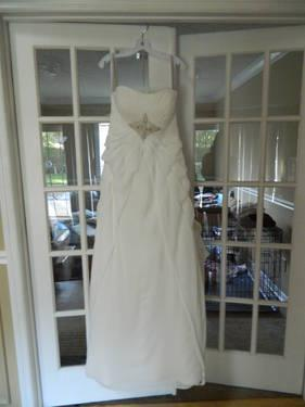 New wedding dress-size 12