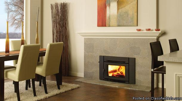New Wood Stove Insert Modern Look Regency Ci 1200 For Sale