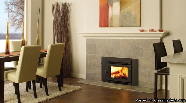 New Wood Stove Insert Modern Look Regency Ci 1200 For Sale