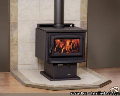 New Wood Stove Pacific Energy Up To 1800 Sq Ft Heat 82