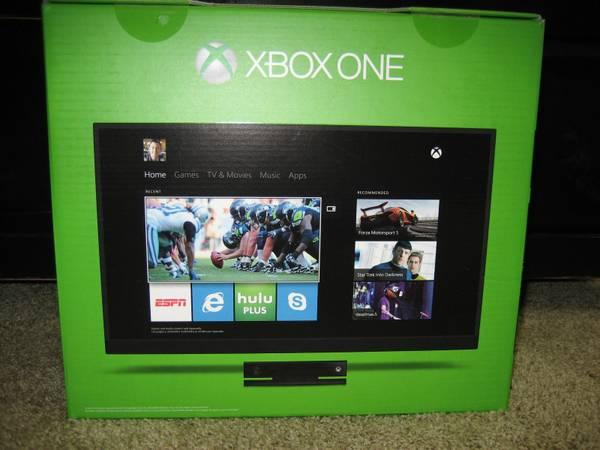 NEW XBOX ONE AND KINECT! W/ Controller! BRAND NEW *SEALED ...
