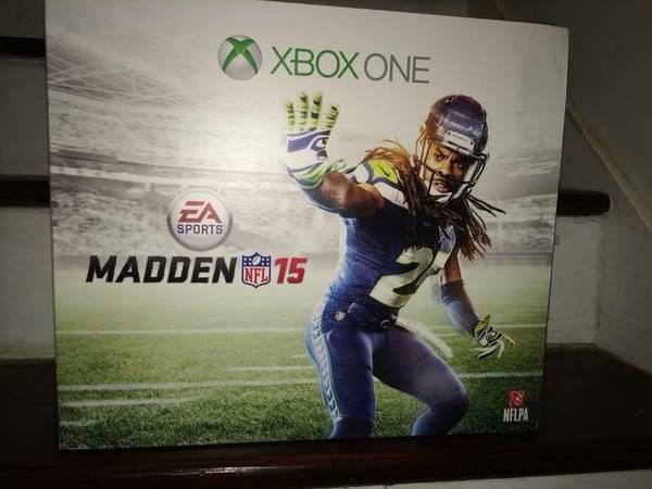 ► ☎ ►► NEW ► XBOX ONE Console Madden 15 Bundle - $375