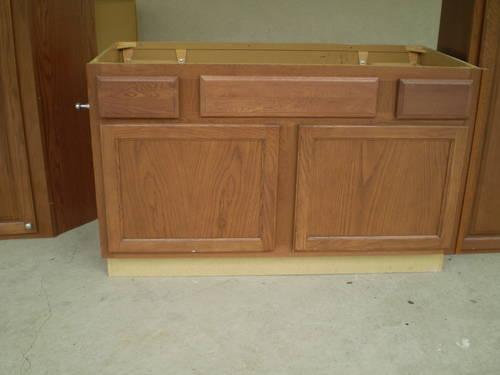 New kitchen and bathroom real wood cabinets for sale in for New kitchen units for sale
