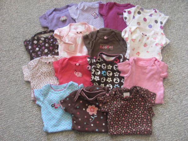 Baby Girl Newborn Lot Mixed Items & Lots