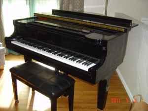 Newer Wurlitzer Baby Grand Piano Toledo Ohio For Sale