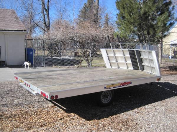 newmans sledbed snowmobile trailer - for sale in twin falls, idaho