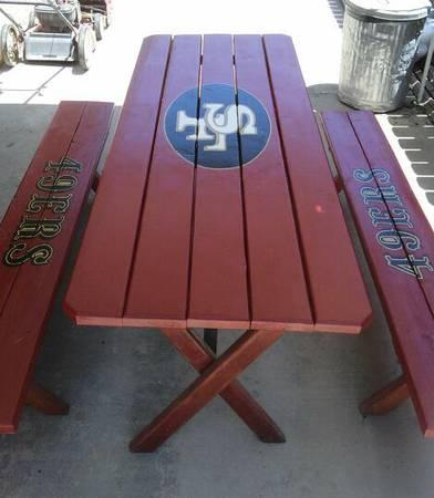 NFL tables - $125