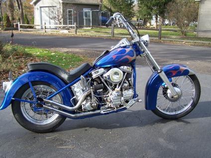 Nice 1952 Harley Davidson Panhead FL Chopper