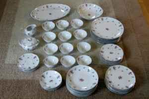 Nice 51 pc. set of Meito (Japan) china dishes - $35