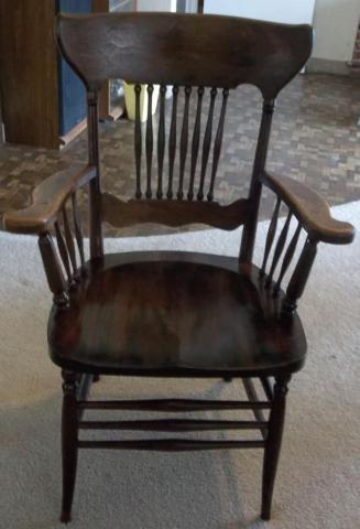*** Nice Antique Chair - Heywood Bros & Wakefield Co