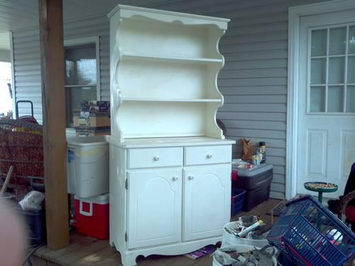 Nice Antique Curio Cabinet With Key For Sale In Dayton