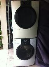 Nice Kenmore Elite He3 front load washer and dryer