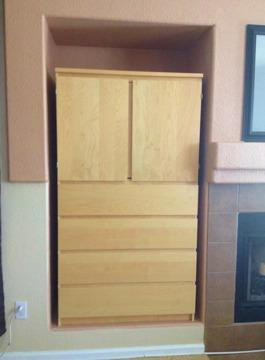 Nice TV Armoire/Entertainment Center- IKEA Malm