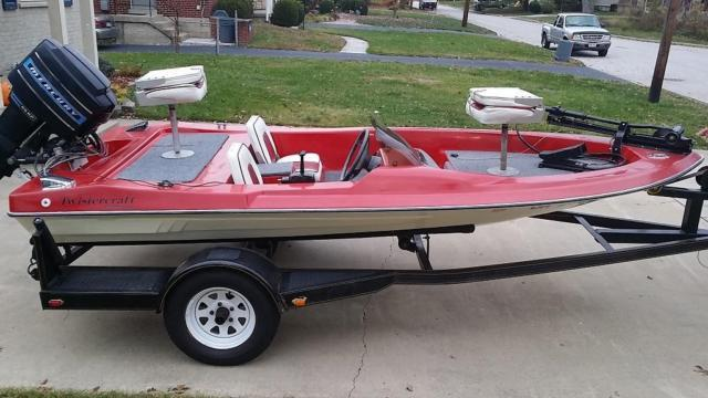 Nice Twistercraft 13 Mini Bass Boat For Sale In