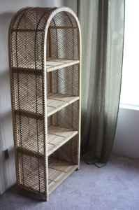 Nice Wicker Bookshelf