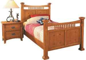 NICE Xmas gift! New in box SOLID wood BOYS twin bed &