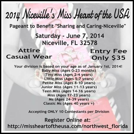 Niceville's Miss Heart of the USA