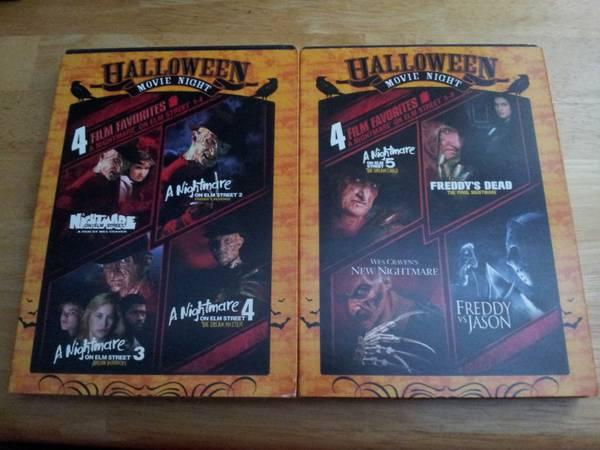 Nightmare on elm street collection DVDs 1-8 - $10