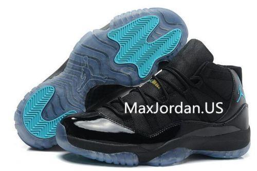 f2d7307159cbe1 Nike Air Jordan 11 Black Gamma Blue Authentic Sneaker 81usd for Sale ...