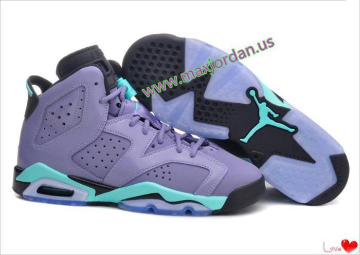 08bc7c0ea36fa4 nike air jordan 6 retro iron purple sneaker 68usd for Sale in York ...