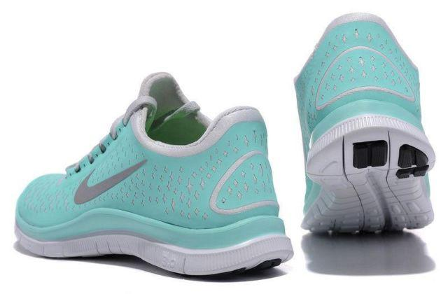 new arrivals 5d074 04314 Nike Free Run 3.0 V4 Women size 8 Running Shoes Tiffany