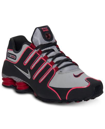finest selection da5c9 819f4 ... cheap nike mens shox nz eu running sneakers from finish line bf599 cb0fb
