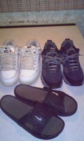 e12913977 nike slides shoe lot for Sale in Santa Ana