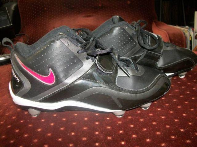 Nike Team Code Zoom Wide Football Cleats Size 9 12