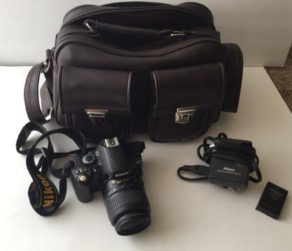 Nikon D40 kit with camera bag