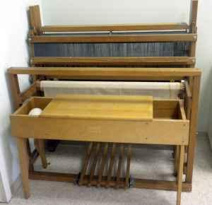 Kessenich Floor Loom For Sale Spinning Weaving And Fiber