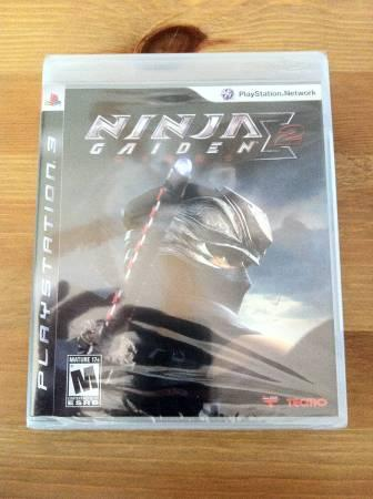 Ninja Gaiden Sigma 2 BRAND NEW for PS3 - $15