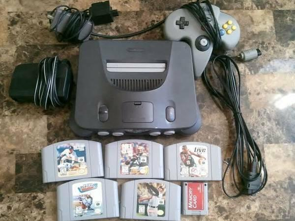 Nintendo 64, games and controller for sale - $100