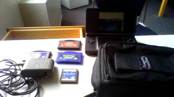 Nintendo DS Lite - With Games - $55