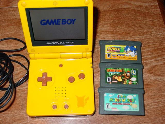 Nintendo GameBoy Advance SP
