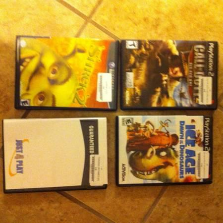 Nintendo Gamecube with 4 games - $30